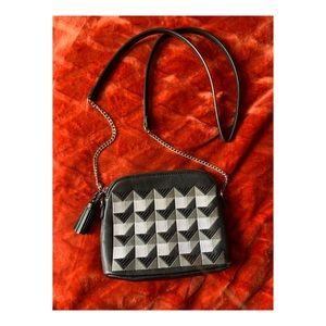 Glam Danielle Nicole Leather Purse Geometric Style